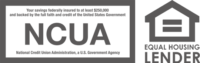 Member: NCUA, Equal Housing Lender